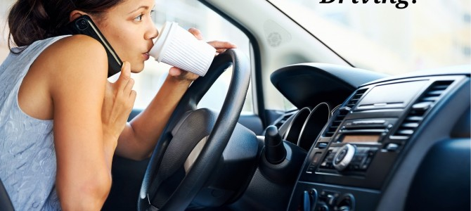 Always Be Alert While Driving And Avoid Distracted Driving!